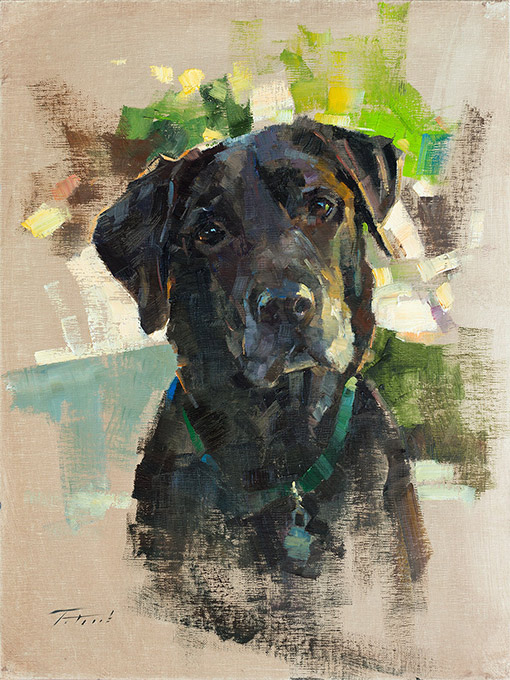 Paintings From Picture Of Dog